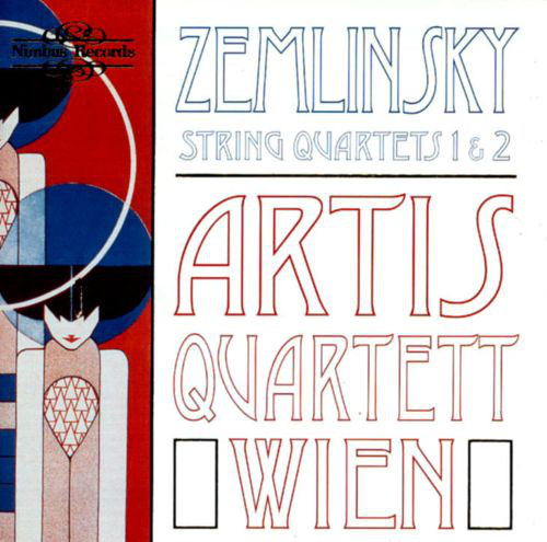 Zemlinsky - Artis Quartett Wien String Quartets 1 & 2 CD