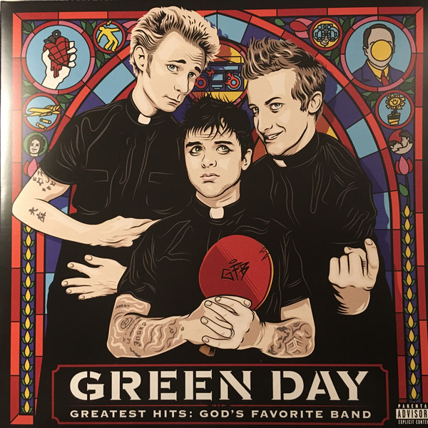 Green Day Greatest Hits: God's Favorite Band  Vinyl