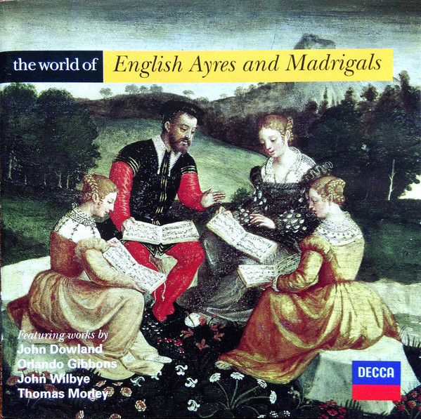 Various The World Of English Ayres And Madrigals Vinyl