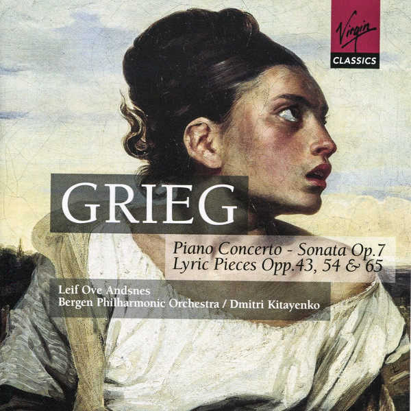 Grieg, Leif Ove Andsnes, Bergen Philharmonic Orchestra, Dmitri Kitayenko Piano Concerto - Sonata Op. 7 - Lyric Pieces Opp. 43, 54 & 65