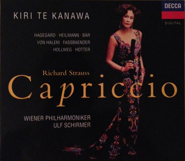 Strauss - Kiri Te Kanawa, Hagegard, Heilmann, Bar, Von Halem, Fassbaender, Hollweg, Hotter, Wiener Philharmoniker, Ulf Schirmer Capriccio