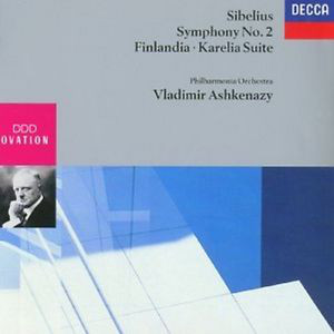 Sibelius - Vladimir Ashkenazy Symphony No. 2 / Finlandia / Karelia Suite Vinyl