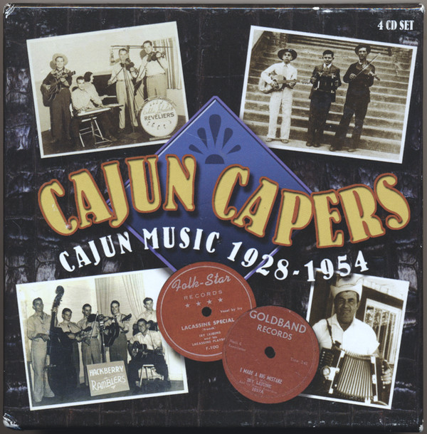 Various Cajun Capers: Cajun Music 1928-1954
