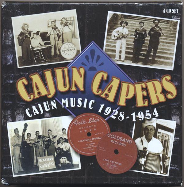 Various Cajun Capers: Cajun Music 1928-1954 Vinyl
