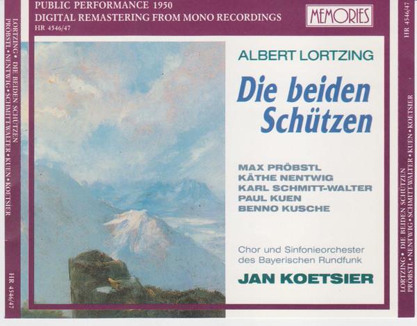 Lortzing - Jan Koetsier, Probstl, Nentwig, Schmitt-Walter, Kuen, Kusche Die Beiden Schützen Vinyl