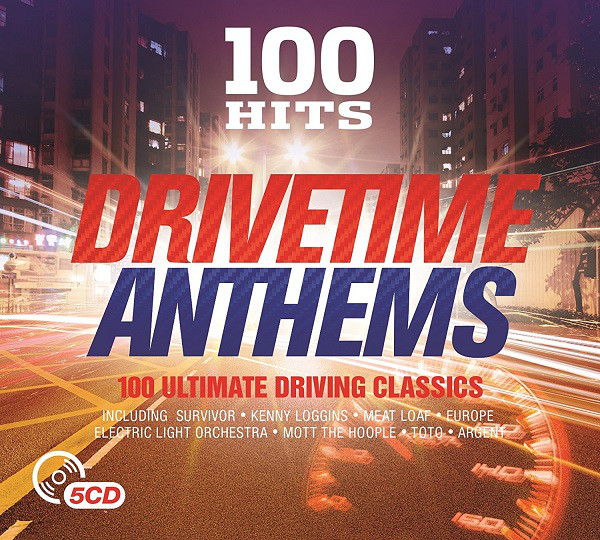 Various 100 Hits Drivetime Anthems CD