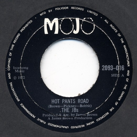 The JB's Hot Pants Road / Pass The Peas