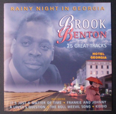 Benton, Brook A Rainy Night In Georgia CD