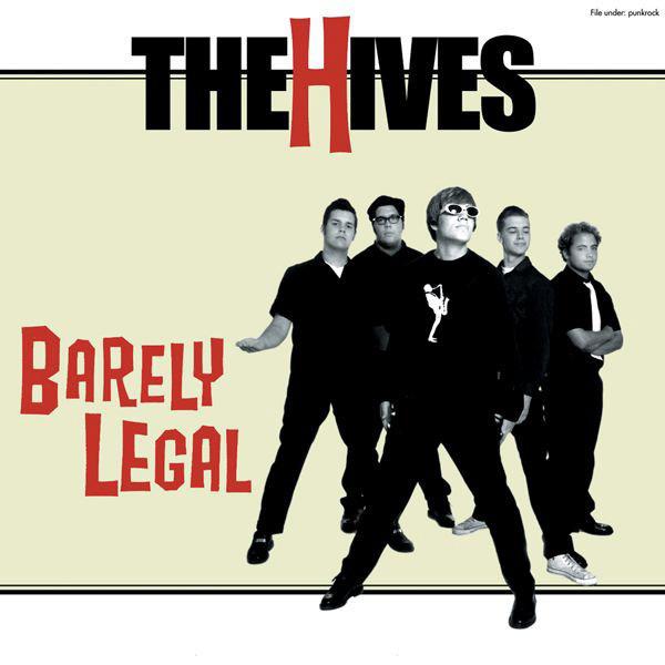 The Hives Barely Legal Vinyl