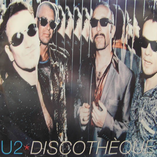 U2 Discotheque Vinyl