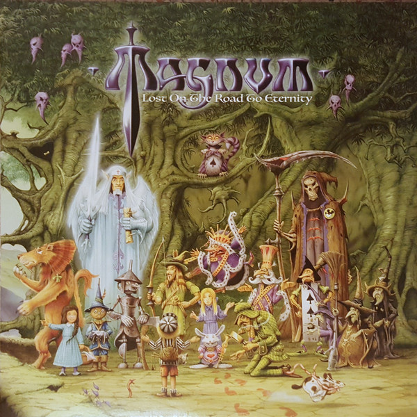 Magnum Lost On The Road To Eternity Vinyl