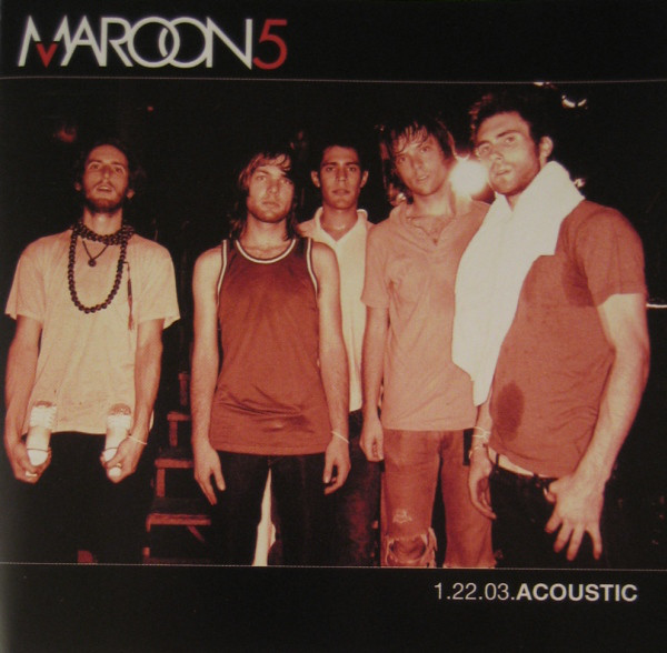 Maroon 5 1.22.03.Acoustic Vinyl