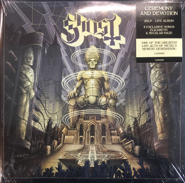 Ghost Ceromny And Devotion Vinyl