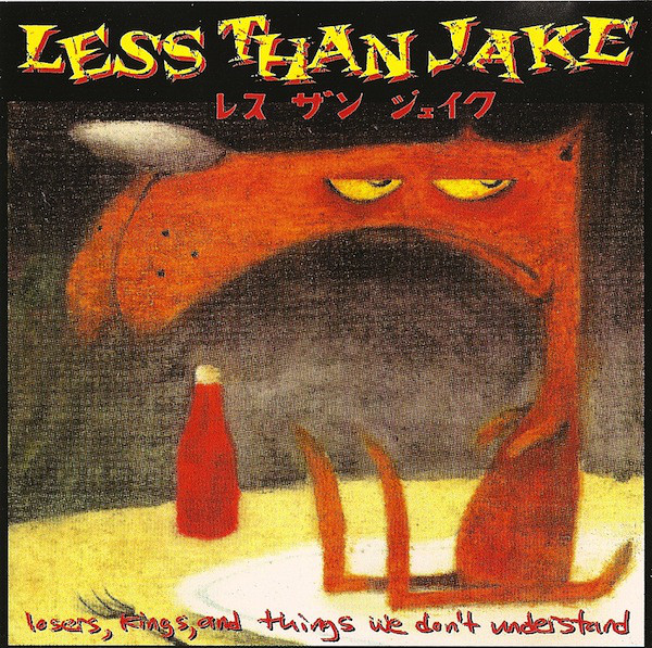 Less Than Jake Losers Kings And Things We Don't Understand Vinyl