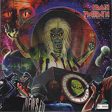 Iron Maiden Out Of The Silent Planet Vinyl