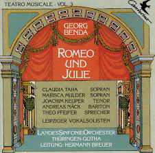 Benda - Taha, mulder, Keuper, Nack, Pfeifer, Leipziger Vokalsolisten Romeo Und Julie CD