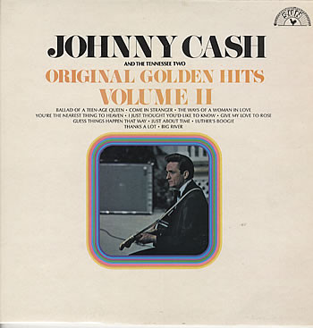 Cash, Johnny & The Tennessee Two Original Golden Hits Volume II