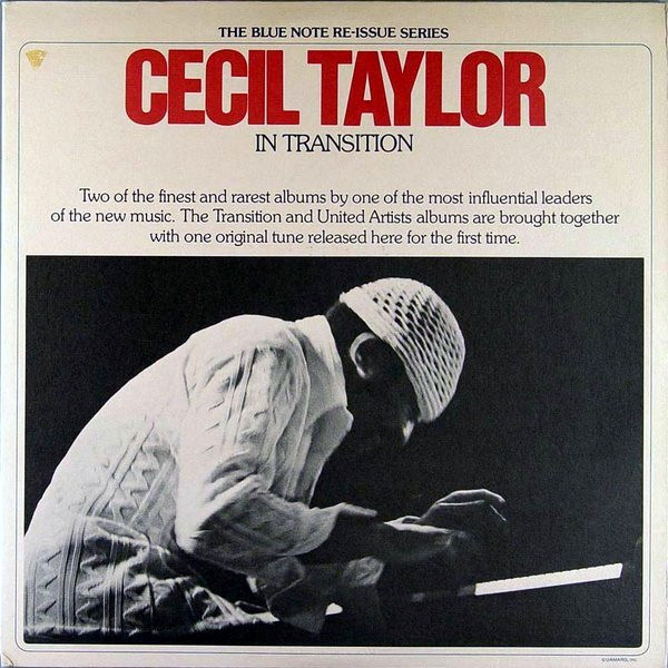 Taylor, Cecil In Transition Vinyl