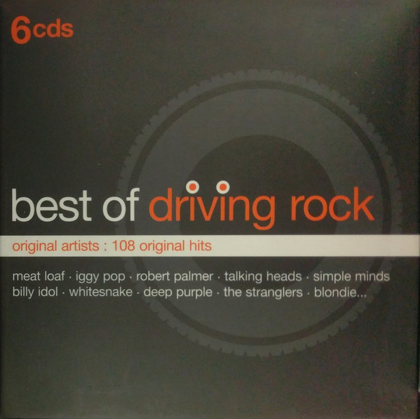 Various Best Of Driving Rock CD