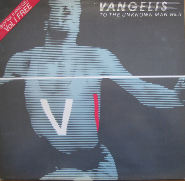 Vangelis To The Unknown Man Vol. II Vinyl
