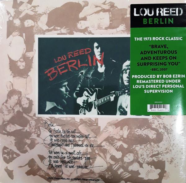 Lou Reed Berlin Vinyl