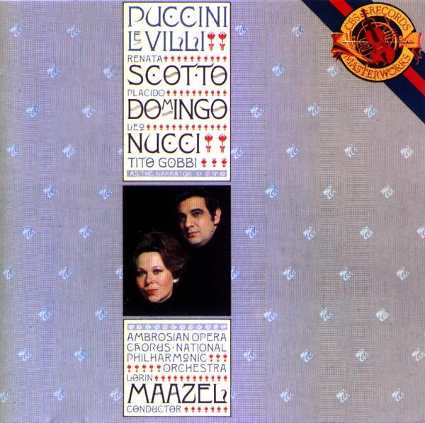 Puccini - Placido Domingo, Lorin Maazel Le Villi Vinyl