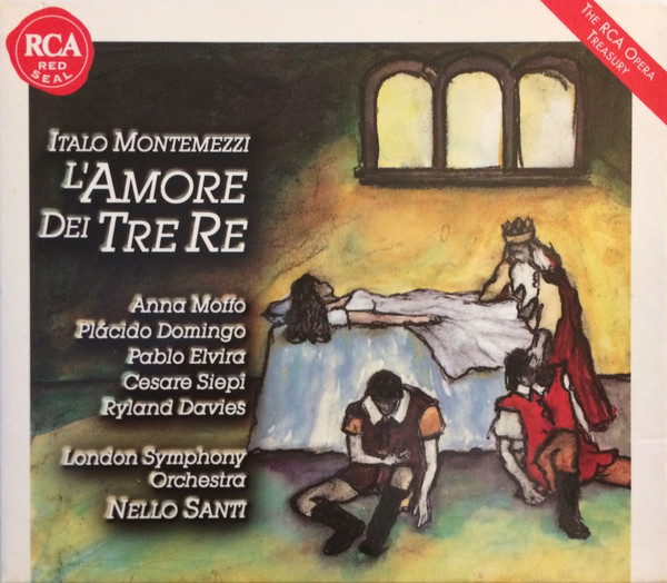 Montemezzi - Nello Santi, Placido Domingo, Anna Moffo, Pablo Elvira, Cesare Siepi, Ryland Davies L'Amore Dei Tre Re Vinyl