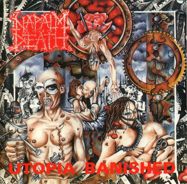Napalm Death Utopia Banished Vinyl