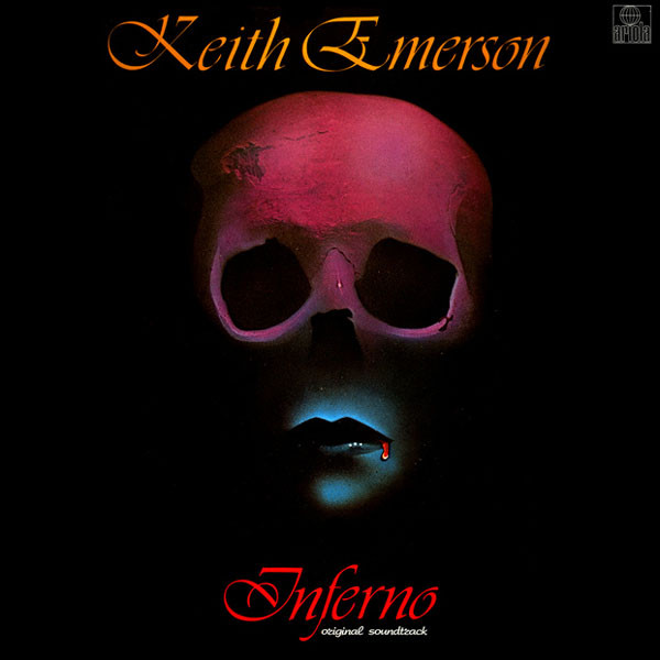 Keith Emerson Inferno - SOUNDTRACK Vinyl