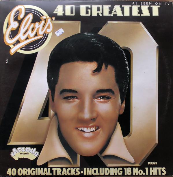 Presley, Elvis 40 Greatest Hits Vinyl