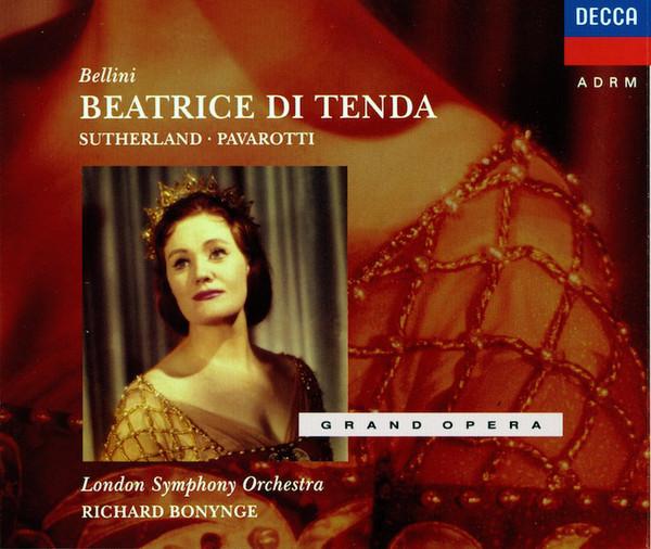 Bellini - Veasey, Bonynge, Pavarotti, Opthof, London Symphony Beatrice Di Tenda CD