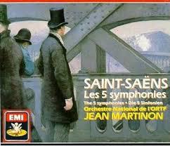 Saint-Saens - Orchestre National De L'ORTF, Jean Martinon  Les 5 Symphonies CD