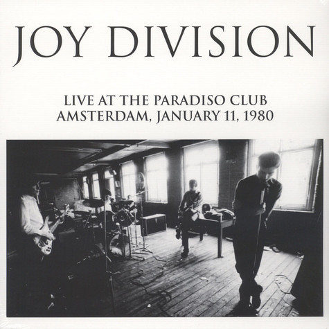 Joy Division Live At The Paradiso Club Amsterdam, January 11, 1980