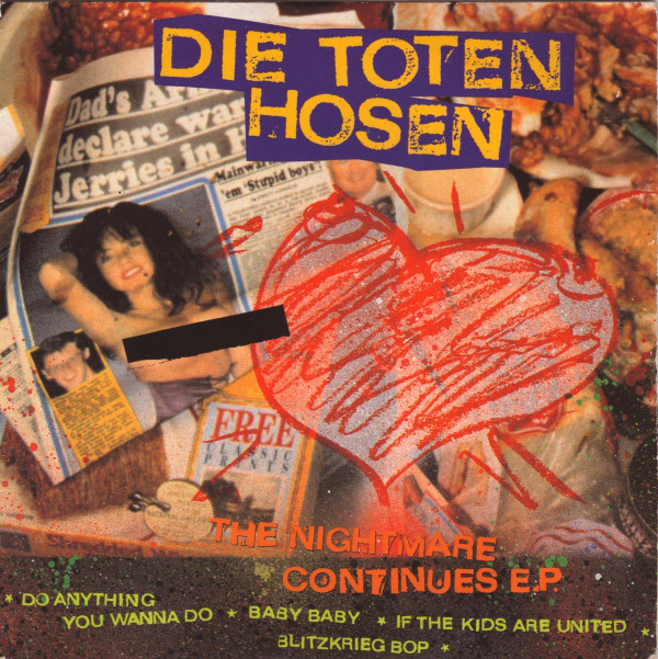 Die Toten Hosen The Nightmare Continues EP