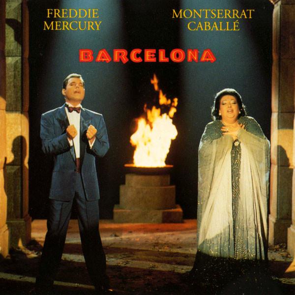 Freddie Mercury & Montserrat Caballé Barcelona  CD