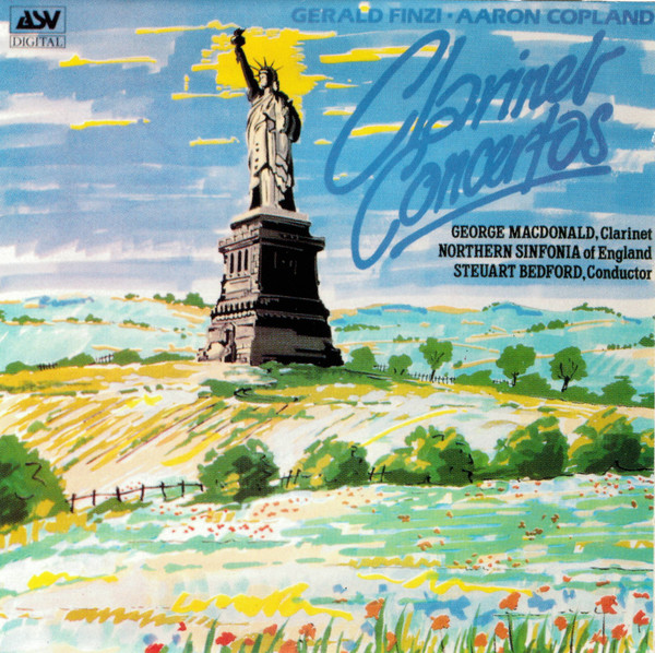 Finzi / Copland - George Macdonald, Steuart Bedford Clarinet Concertos Vinyl