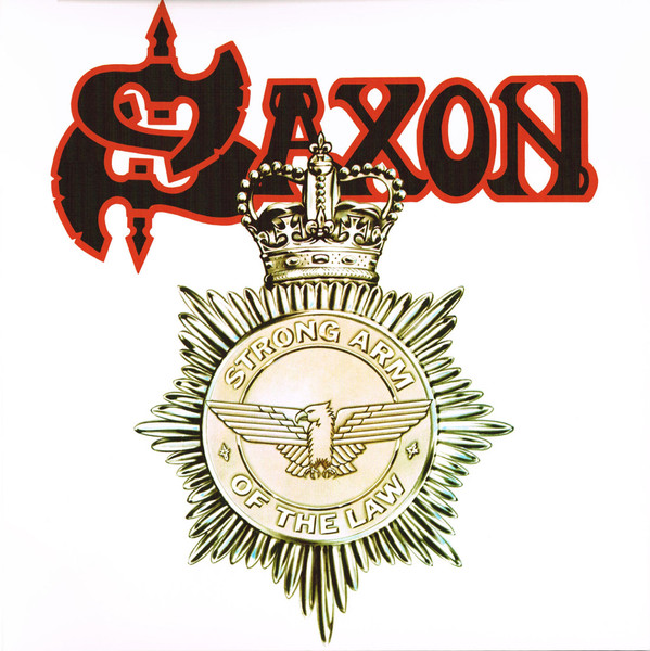 Saxon Strong Arm Of The Law Vinyl