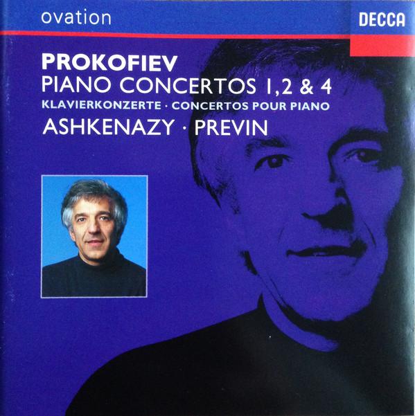 Prokofiev, Vladimir Ashkenazy, Previn Piano Concertos 1, 2 & 4
