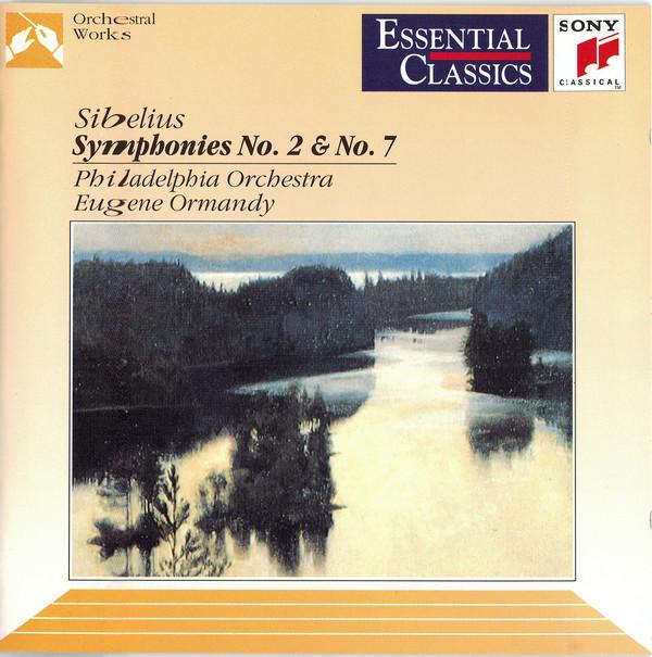 Sibelius - Eugene Ormandy Symphonies Nos. 2 & 7 Vinyl