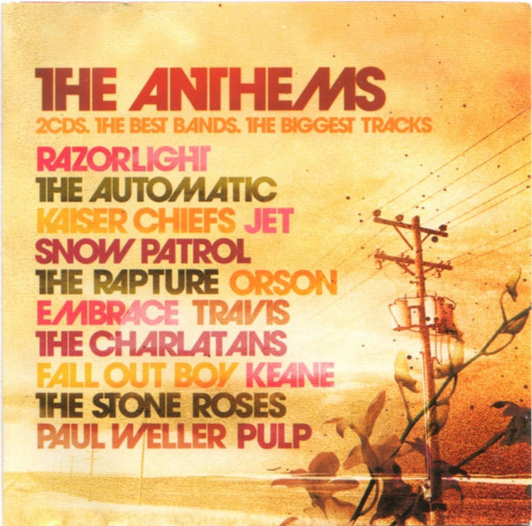 Various The Anthems CD