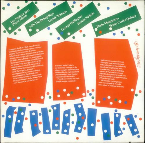 Various The Modern Jazz Piano Album