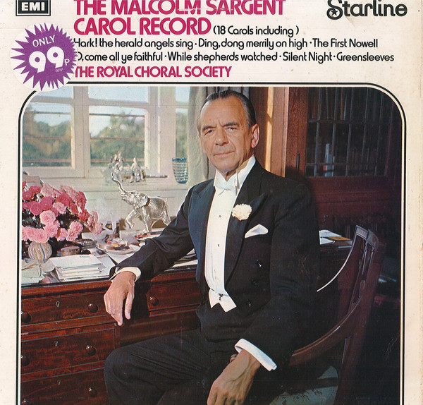 Sargent, Malcolm The Malcolm Sargent Carol Record Vinyl