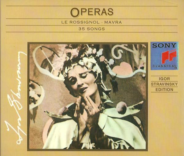 Stravinsky, Igor Edition: Le Rossignol   Mavra   25 Songs - Vol. VIII
