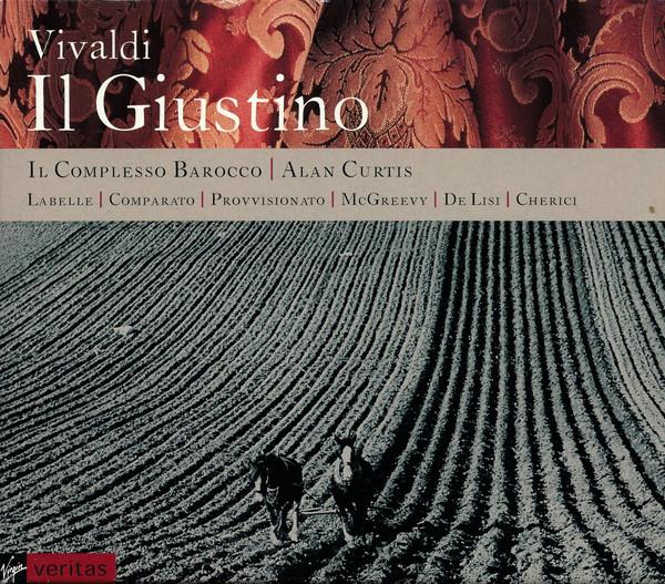 Vivaldi - Alan Curtis, Il Complesso Barocco, Labelle, Comparato, Provvisionato, McGreevy, De Lisi, Cherici Il Giustino