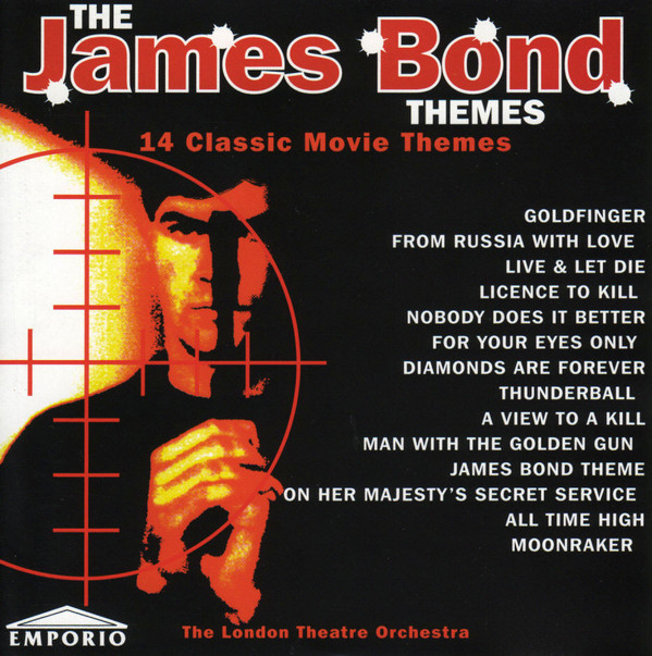 The London Theatre Orchestra The James Bond Themes