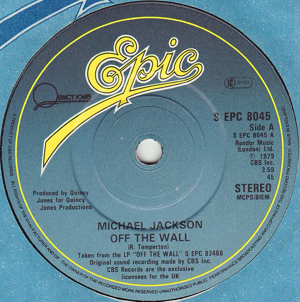 Michael Jackson Off The Wall Vinyl
