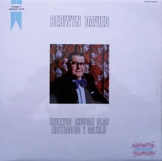 Davies, Berwyn Enillydd Rhuban Glas Eisteddfod Y Dathlu