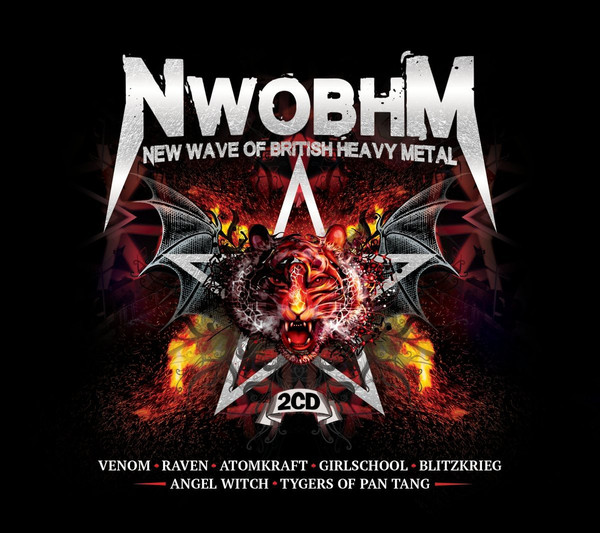 Various NWOBHM (The New Wave Of British Heavy Metal)  CD