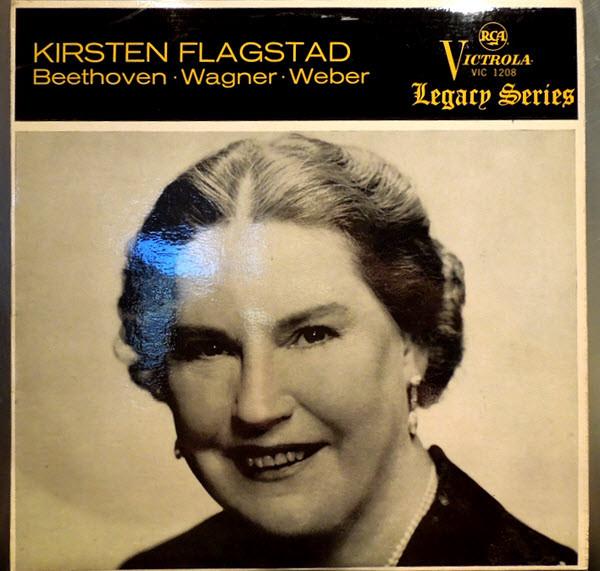 Beethoven / Wagner / Weber - Kirsten Flagstad Kirsten Flagstad Vinyl