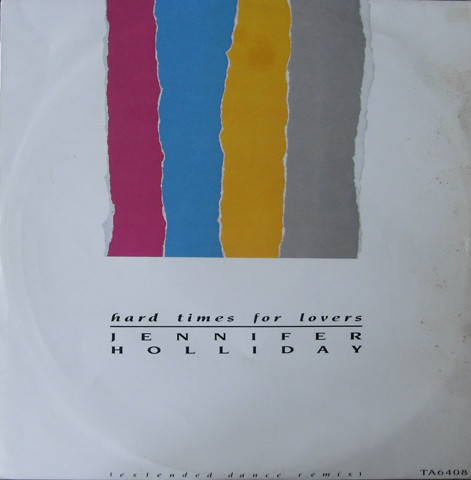 Holliday, Jennifer Hard Times For Lovers Vinyl